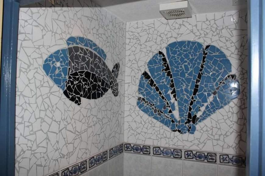 Mozaïek toilet